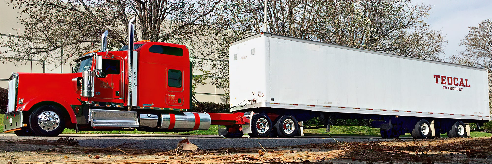 Roller Bed Equipped Trailers
